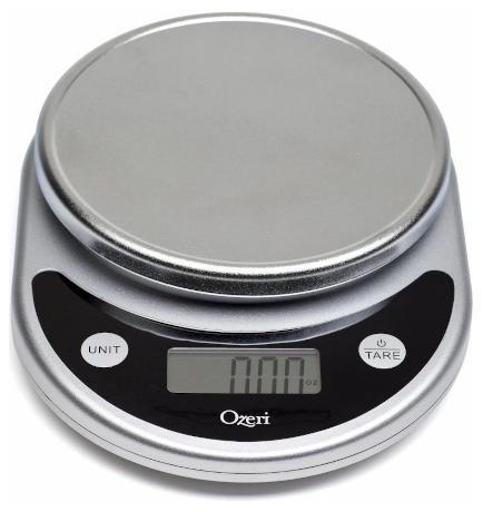 Ozeri ZK14-S Digital Multifunction Kitchen Scale