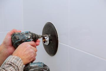 set up a hidden camera in bathroom